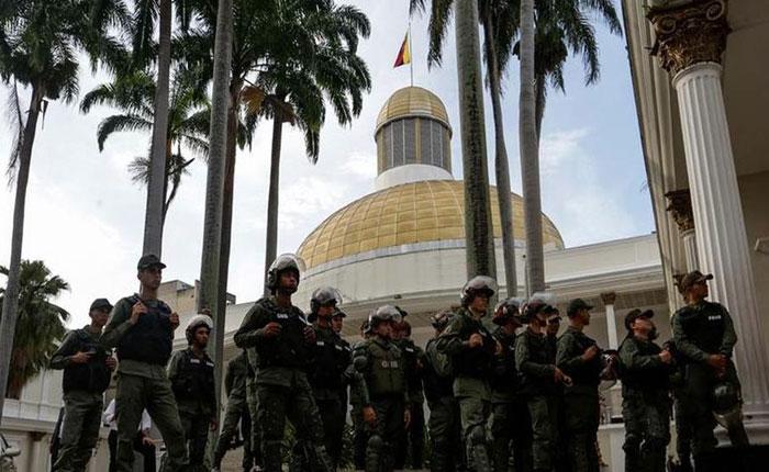 Asamblea Nacional amaneció tomada por efectivos de la GNB