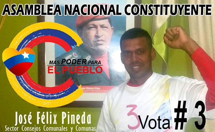 Candidato a la Constituyente fue asesinado a tiros en su casa