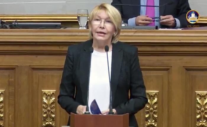 Luisa Ortega Díaz Fiscal en AN