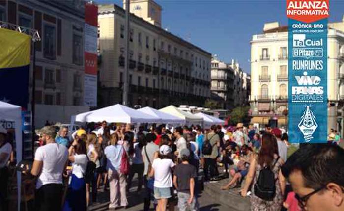 Este domingo 16J, la Puerta del Sol en Madrid tiene un matiz diferente