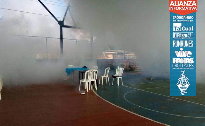 En Puerto Ayacucho colectivos atacaron a participantes en la consulta popular con lacrimógenas