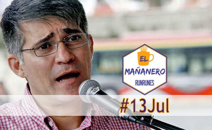 El Mañanero #13Jul: las 8 noticias que debes saber