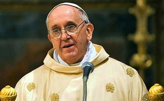 """Papa preocupado por """"retorno de los nacionalismos"""" en Europa"""
