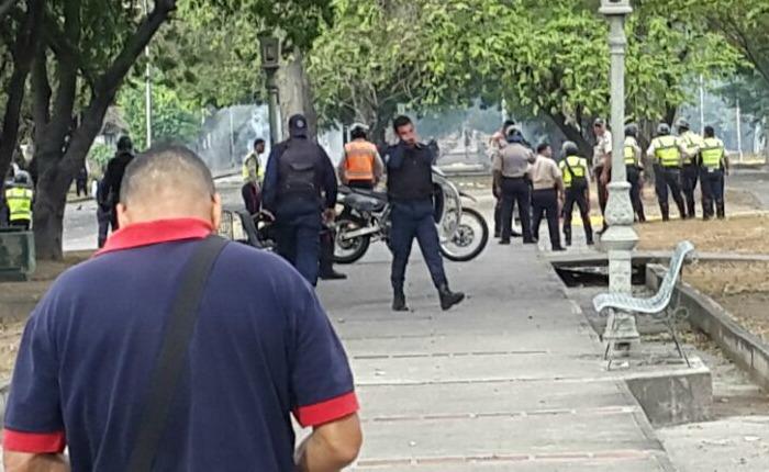 Denuncian detención arbitraria de estudiantes en la UPEL