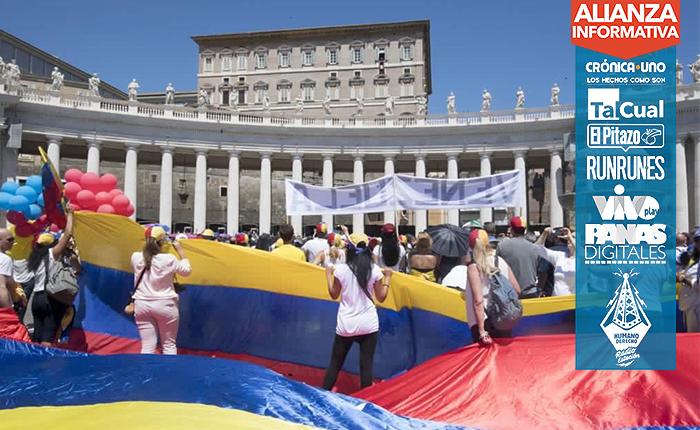 El Papa Francisco saluda a Venezuela en su Ángelus este #16Jul
