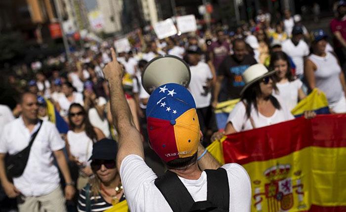 Madrid marcha el #8jul por los 100 días de protestas en Venezuela