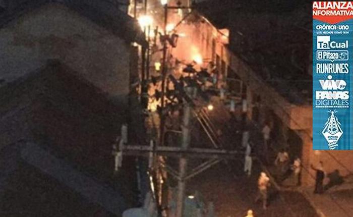 Consulta Popular en Boconó termina en trágica protesta