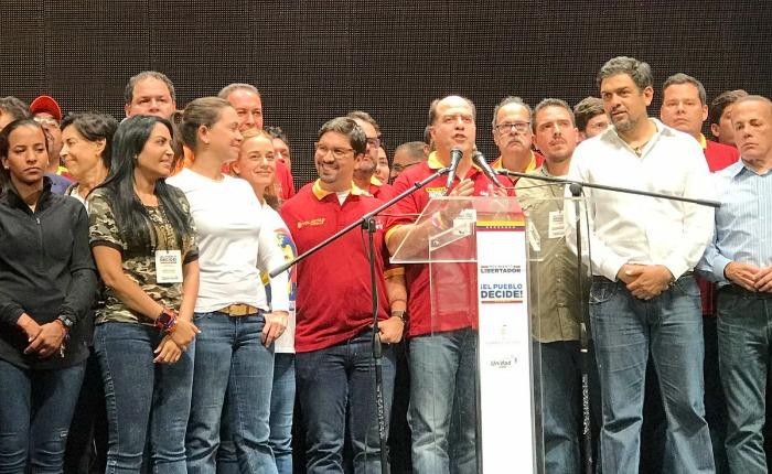 Borges: Matemáticamente, Maduro está revocado