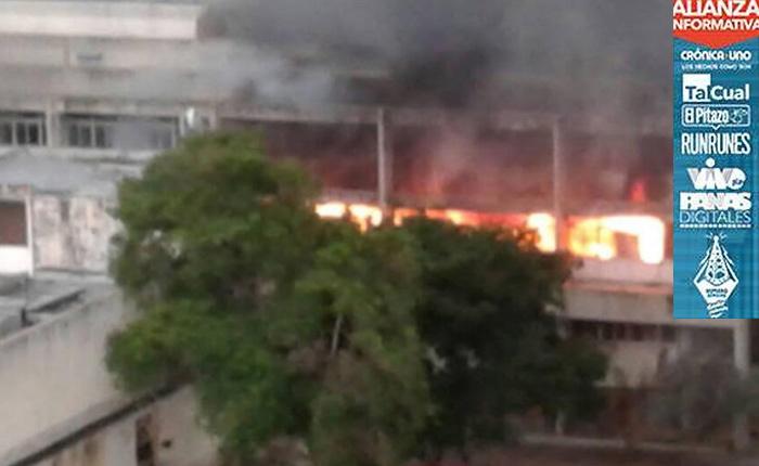 Tres muertos en Zulia por saqueo y quema de edificio de Min-Vivienda