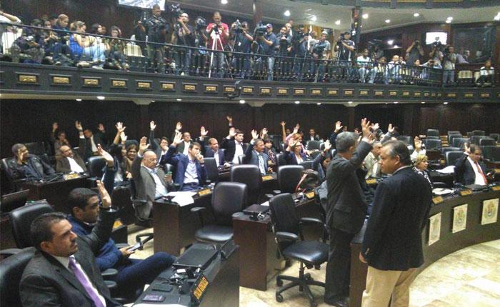 Asamblea Nacional rechaza subordinarse a constituyente