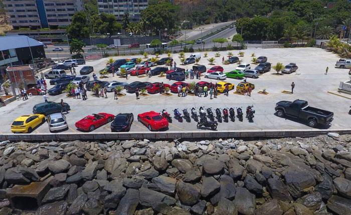 Ferraris en la Caracas - La Guaira: