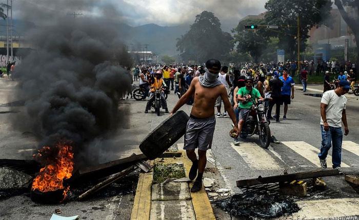 "Crisis venezolana ""mantiene en vilo"" a la prensa alemana"