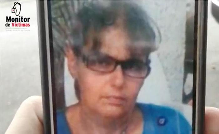 #MonitordeVíctimas Policía asesinó a ama de casa por reclamar matraqueo