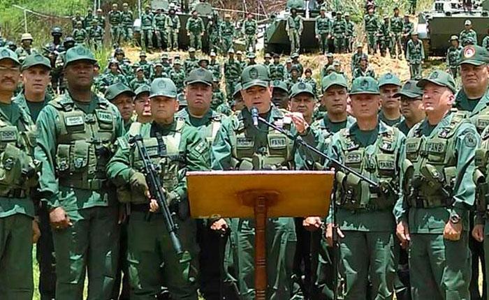 FANB asegura que asalto a Paramacay está vinculado a la oposición