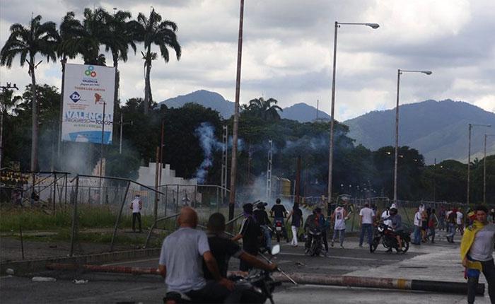Detuvieron a siete personas que estarían involucradas en ataque al Fuerte Paramacay