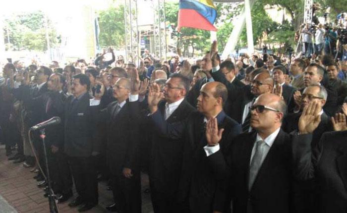 Magistrados designados por la AN: Trabajaremos por el restablecimiento de la institucionalidad democrática en el país
