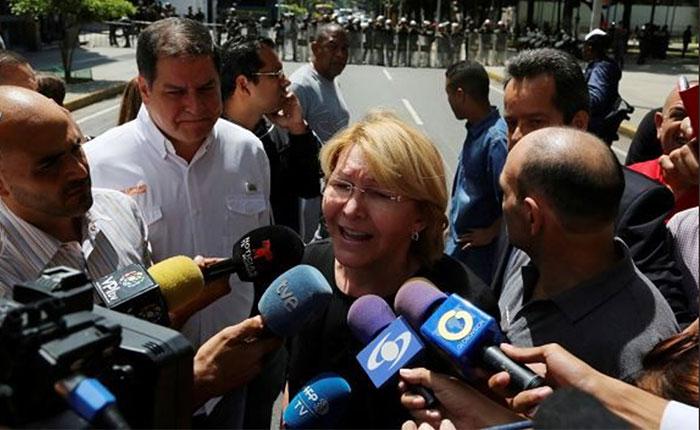 Comunidad internacional rechaza destitución de Luisa Ortega Díaz