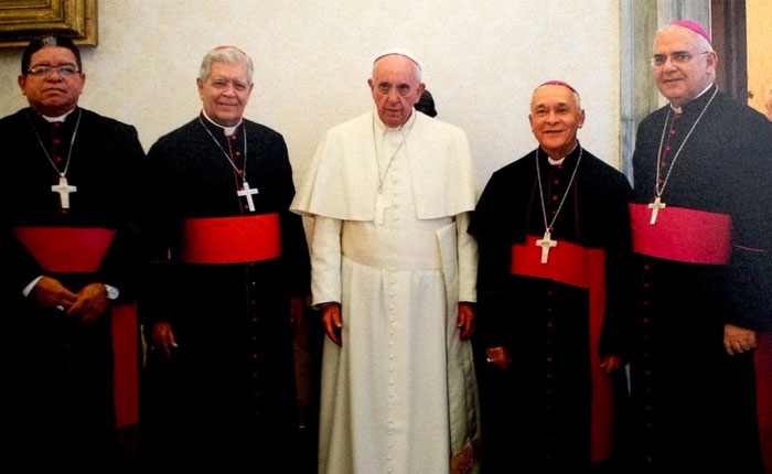 Papa Francisco se reunirá con la Conferencia Episcopal Venezolana en Colombia