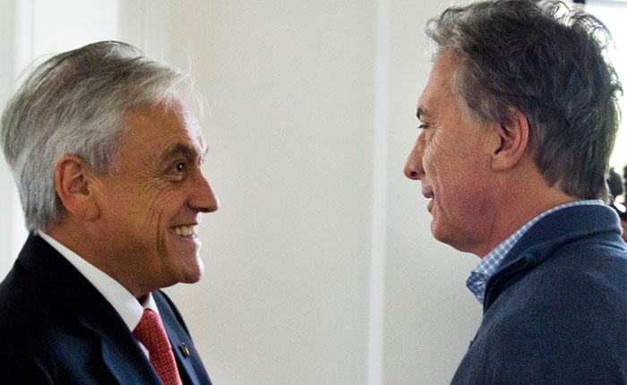Mauricio Macri recibió a Sebastián Piñera con el eje puesto en Venezuela
