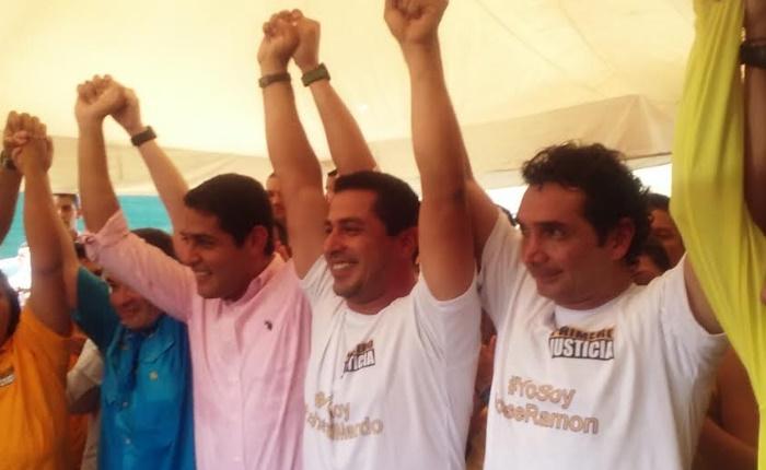 José Ramón Arias, candidato a la Gobernación de Aragua por PJ, se inscribió en las primarias