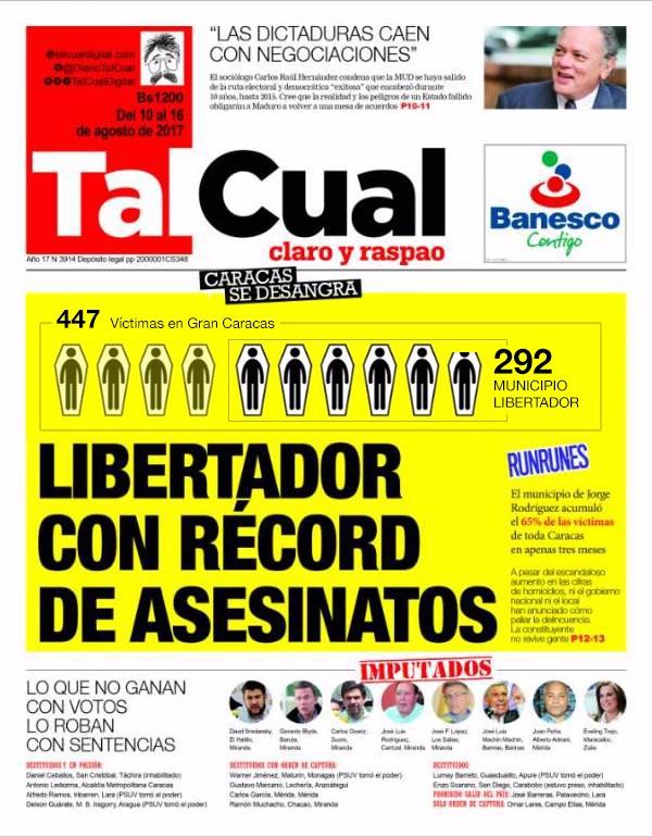 TalCual#10Ago