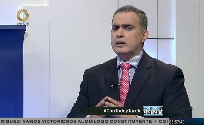 """Hace un mes, Tarek William Saab no tenía """"tripas, ni ánimos, ni voluntad"""" para ser Fiscal General"""