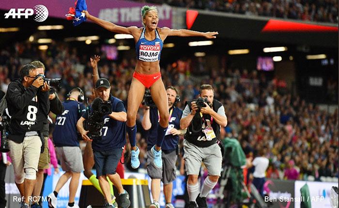 Mundial de Atletismo 2017: Yulimar Rojas gana oro y se proclama campeona del mundo en triple salto