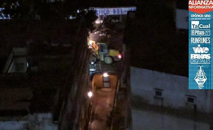 GNB y Conas sorprenden de madrugada a vecinos de Colinas de Bello Monte