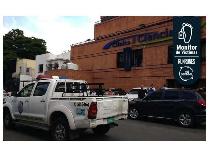 #MonitorDeVíctimas   Asesinan a médico dentro de su consultorio en Los Chaguaramos