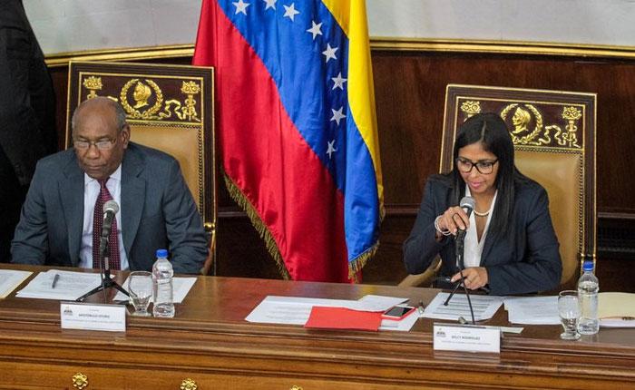 Chavismo rechaza las nuevas sanciones de EEUU a funcionarios venezolanos