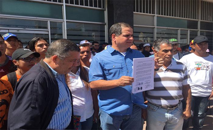 Luís Florido introduce recurso de nulidad en defensa de Alfredo Ramos