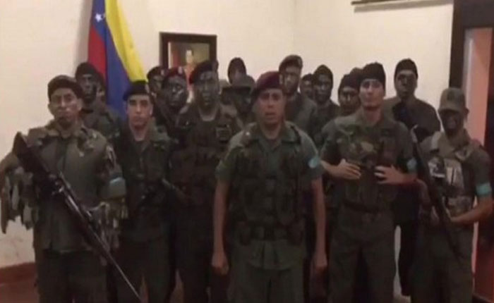 """Reportaron enfrentamiento en Paramacay por supuesta """"sublevación militar"""""""