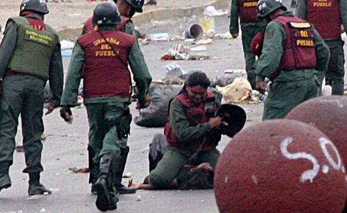 Sebin busca a Marvinia Jiménez, golpeada por la Guardia del Pueblo en 2014