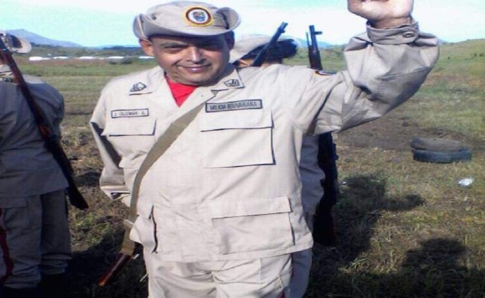 Este es el miliciano que murió de un infarto durante los ejercicios de soberanía