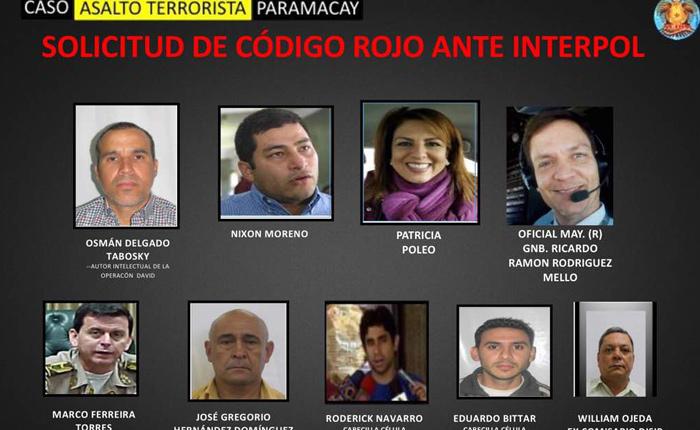 Gobierno lanza alerta roja de Interpol contra Nixon Moreno, Patricia Poleo y Roderick Navarro
