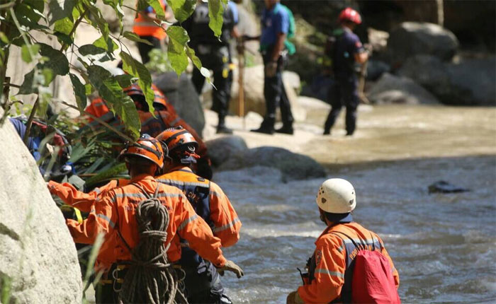 PC continúa operativo de búsqueda en Choroní