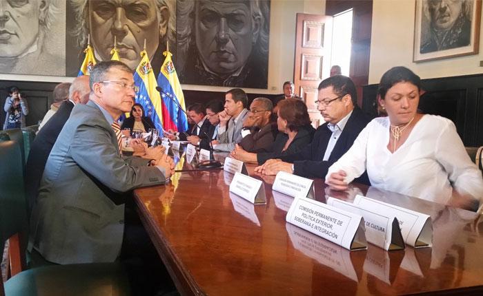 Comisión Delegada de la AN aprobó acuerdo sobre inmunidad parlamentaria