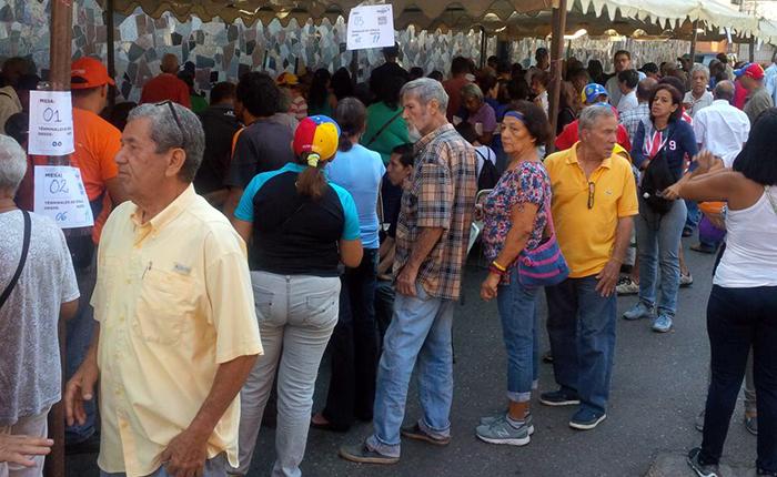 Primarias MUD #10sep Guarenas