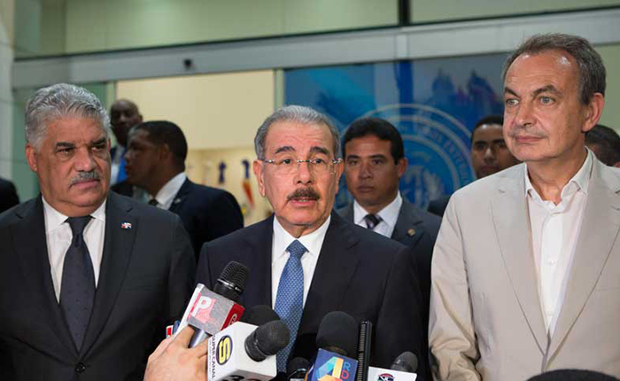 Danilo Medina desmiente posible diálogo de Venezuela en República Dominicana