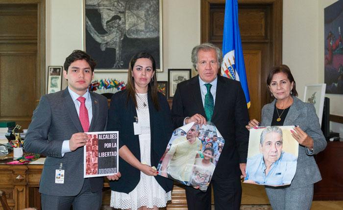 Almagro se reunió con familiares del alcalde Alfredo Ramos