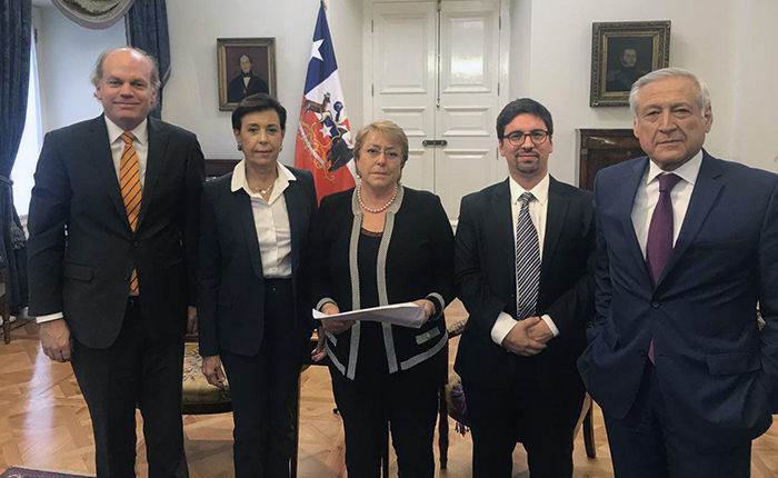 Freddy Guevara Michelle Bachelet Chile