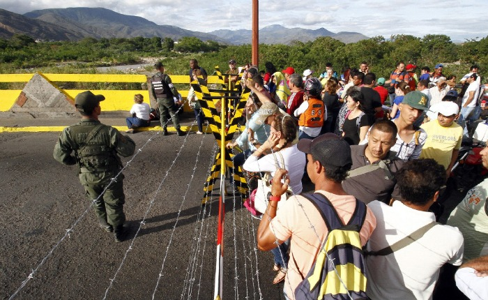 """Colombia espera una migración """"ordenada, segura y legal"""" de venezolanos"""