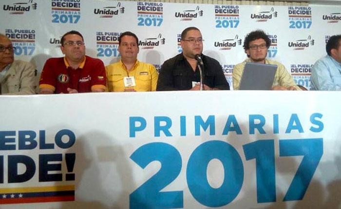 MUD desestima impugnaciones de resultados en primarias de Amazonas, Aragua y Yaracuy