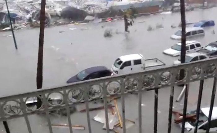 Edificios más sólidos de San Martín destruidos por huracán Irma