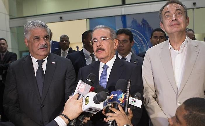MUD se reúne con Danilo Medina y denuncia fraude electoral