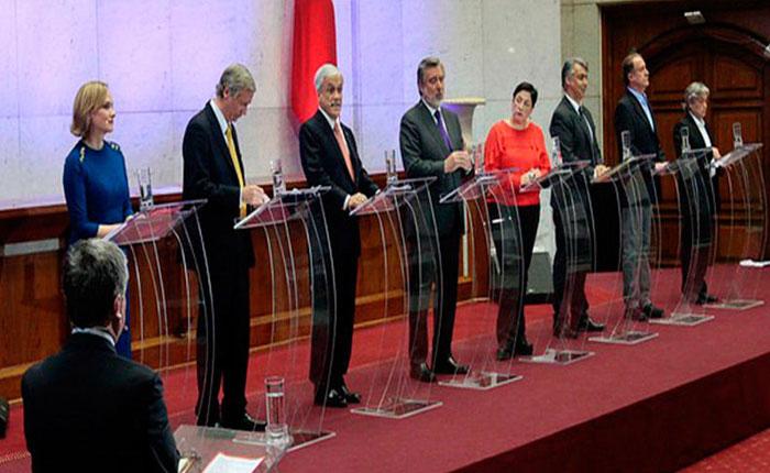 Venezuela fue tema álgido en debate de candidatos a presidencia en Chile