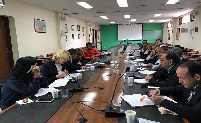 Fiscal General de la República y magistrados se reunieron en Bogotá