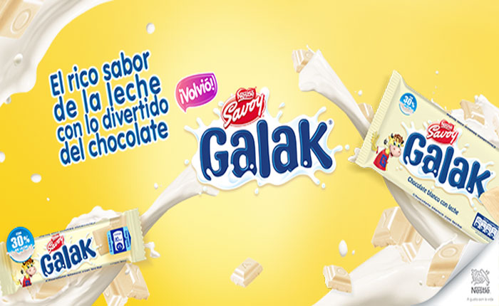 Regresa el chocolate blanco Galak al mercado