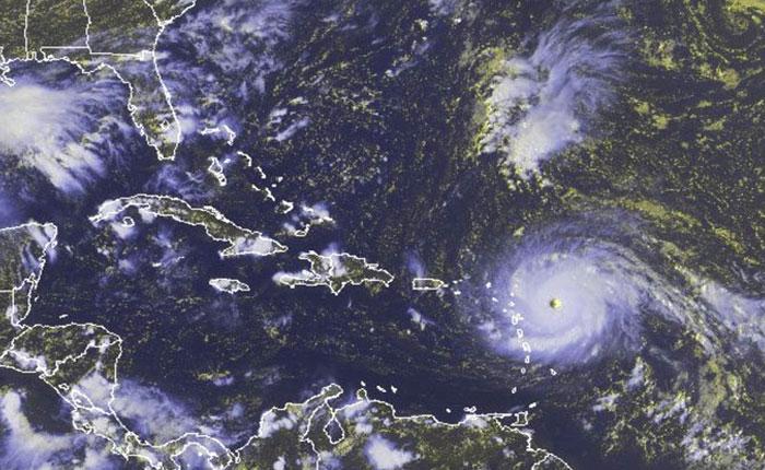 Según Inameh, huracán Irma no tocará costas venezolanas