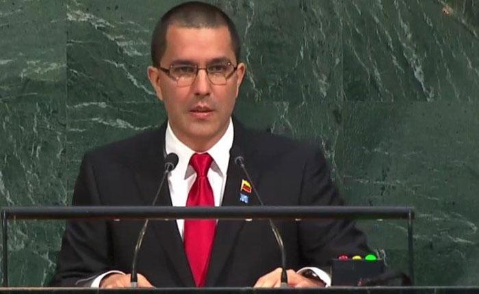 Jorge Arreaza: No nos preocupa si la Unión Europea desconoce los resultados de las elecciones